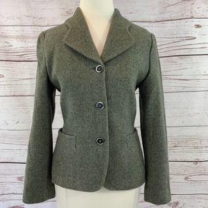 Antonio Fusco Cashmere Blazer jacket grey green
